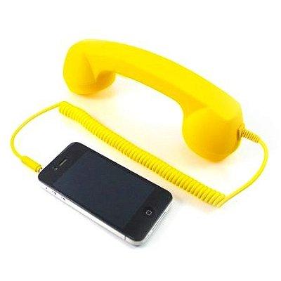 Pop Phone para Smartphones - Amarelo