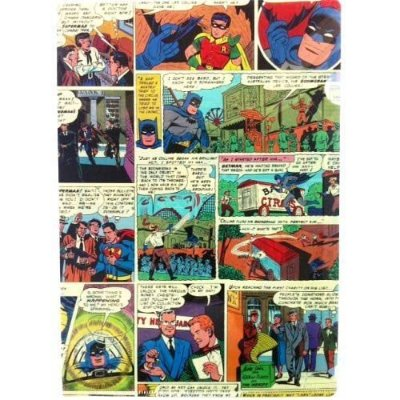 Pasta Plástica L Quadrinhos - DC Comics