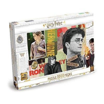 Quebra Cabeça Harry Potter - 1000 Peças