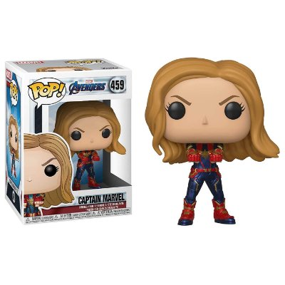Capitã Marvel (457) - Funko Pop