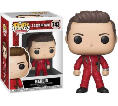 Berlin - La Casa de Papel - Funko Pop