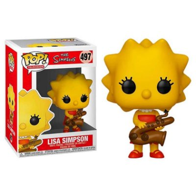 Lisa com Saxofone - Os Simpsons - Funko Pop