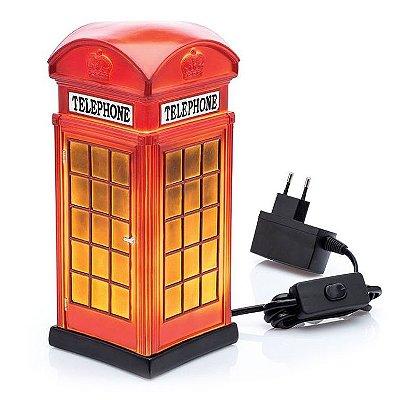 Luminária Cabine de Telefone Londres
