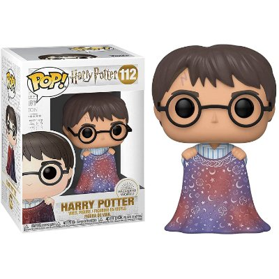 Harry Potter com Capa de Invisibilidade - Funko Pop