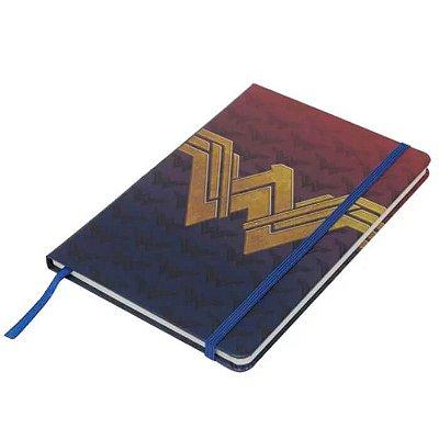 Caderneta Mulher Maravilha Logo - 21cm