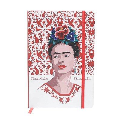 Caderneta Frida Kahlo Passáros - 21cm