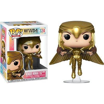 Mulher Maravilha com Armadura Dourada - Funko Pop