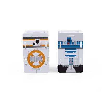 Saleiro & Paliteiro R2D2 e BB8 - Star Wars