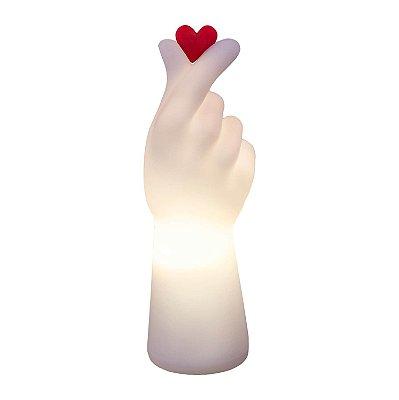 Luminária Coração Coreano K-Pop