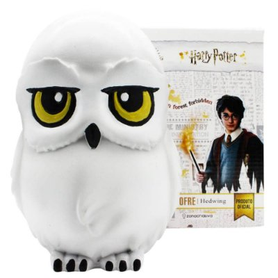 Cofre Coruja Edwiges - Harry Potter