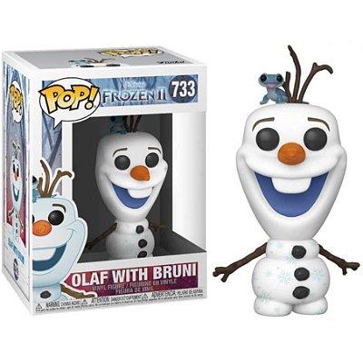 Olaf com Bruni - Frozen - Funko Pop