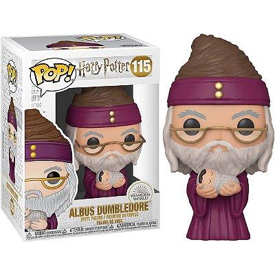 Albus Dumbledore com Harry Bebê - Harry Potter - Funko Pop