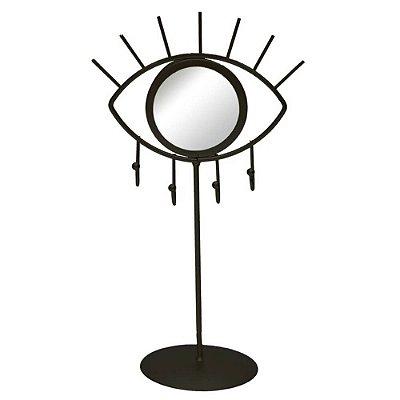 Porta Jóias - Espelho Olho Preto