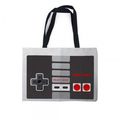 Sacola Bolsa Ecobag - Controle Nintendo NES