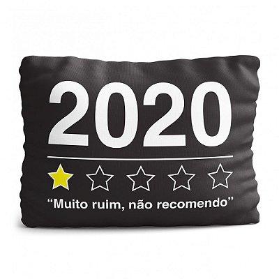 Almofada Avaliação 2020 - Não Recomendo