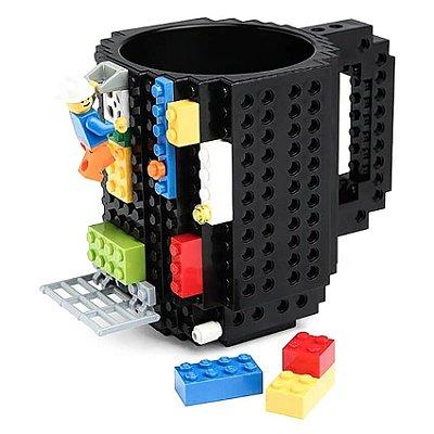 Caneca Lego - Preto