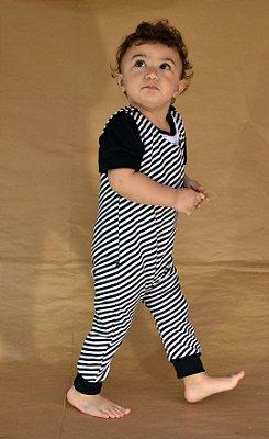 Macacão zebra
