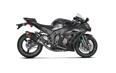 AKRAPOVIC KAWASAKI ZX 10R 2017/2019 ESCAPAMENTO FULL RACING INOX/CARBONO