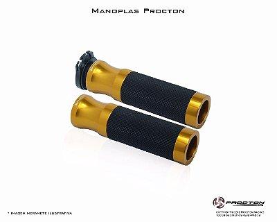 Manopla Procton Universal Dourado - Claro