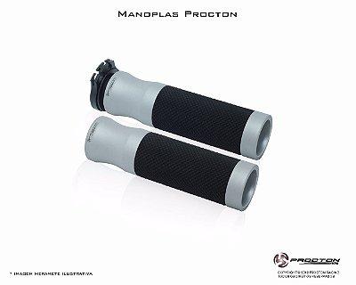 Manopla Procton Universal Branco Fosco