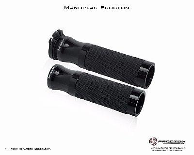 Manopla Procton Universal Preto - Brilhante