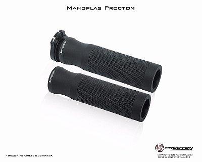 Manopla Procton Universal Preto - Fosco
