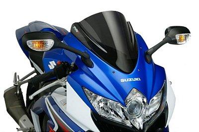 BOLHA PUIG SUZUKI GSX-R 750 SRAD RACING FUME ESCURO 2010 A 2013 4629F