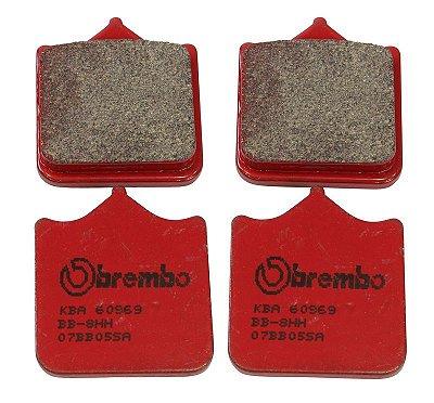 BREMBO PASTILHA FREIO TRIUMPH SPEEED TRIPLE 1050 08-13, 1050 ABS 11-12 DIANTEIRA 07BB33SA