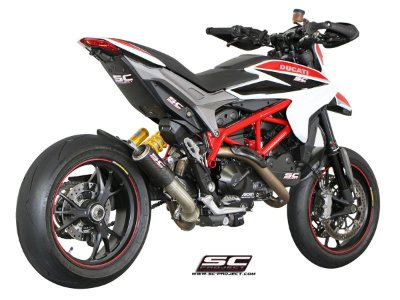 SC-PROJECT CR-T DUCATI HYPERMOTARD 821 CARBONO 2014 A 2017