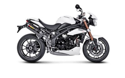 AKRAPOVIC TRIUMPH SPEED TRIPLE 1050 PONTEIRA DUPLA CARBONO 2015 A 2018
