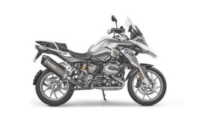 AKRAPOVIC BMW R1200GS 2014 A 2018 PONTEIRA TITANIUM BLACK EDITION