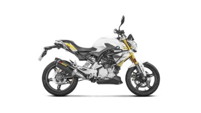 AKRAPOVIC BMW G 310 R 2017/ 2018 2019  FULL RACING CARBONO