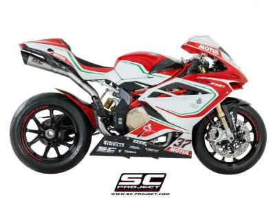 SC-PROJECT ESCAPAMENTO FULL S1 MV AGUSTA F4 2010 A 2018