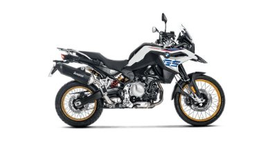 AKRAPOVIC BMW F 850 GS / ADVENTURE 2019/2020 PONTEIRA TITANIUM BLACK