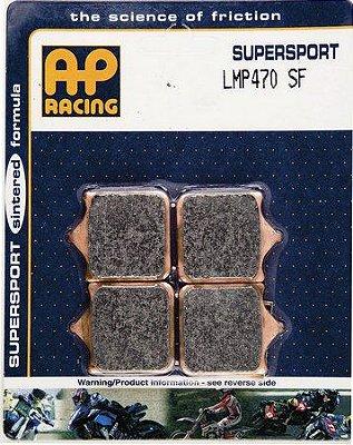 AP RACING PASTILHA DE FREIO BMW S1000R 2013 A 2019 DIANTEIRO LMP 470SF