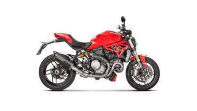 AKRAPOVIC DUCATI MONSTER 1200 2017/2020 PONTEIRA+LINK PIPE