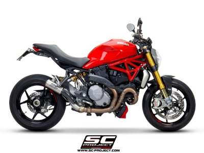 SC-PROJECT DUCATI MONSTER 1200 S/R CR-T TITANIUM 2017/2019