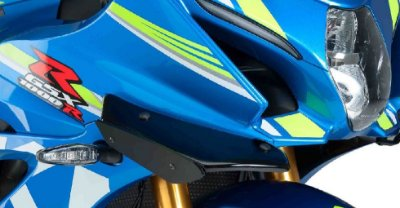 PUIG DOWNFORCE SPOILERS SUZUKI GSX-R 1000 SRAD 2018 A 2020
