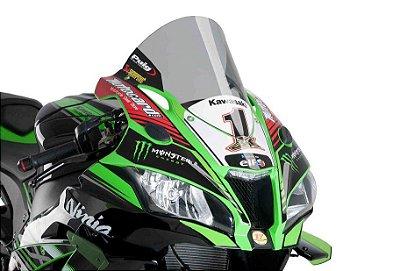 PUIG R-RACER KAWASAKI ZX 10R BOLHA FUME CLARO 2017 2018 2019 2020 9849H
