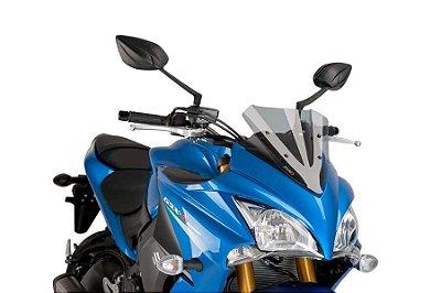 BOLHA PUIG SUZUKI GSX-S 1000F 2015/2021 RACING FUME CLARO 7639H