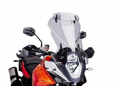 BOLHA PUIG KTM 1190 ADVENTURE /R TOURING COM DEFLETOR FUMÊ CLARO 6506H