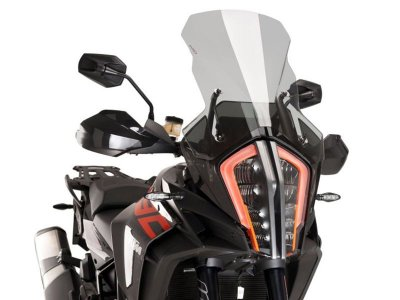 BOLHA PUIG TOURING KTM 1290 SUPER ADVENTURE R S FUME CLARO 9717H