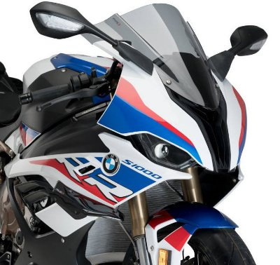 PUIG DOWNFORCE SPOILER BMW S1000RR 2020/2021 PRETO 3636N