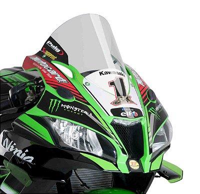 BOLHA PUIG KAWASAKI ZX 10R  2017/2020 R-RACER INCOLOR(TRANSPARENTE) 9849W