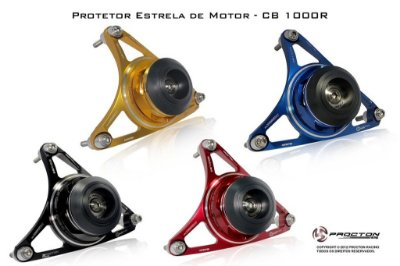 Protetor Motor Estrela Procton Honda Cb 1000r 2012-16 / Cbr 1000 2006-07