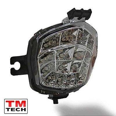 Lanterna Led Pisca Integrado Suzuki Bandit 650 2011 - 2013 Tm Tech