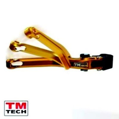 Manete Articulado Premium Tm Tech C/ Regulador Yamaha Xj6 Todas