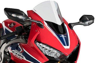 BOLHA PUIG HONDA CBR 1000RR 18/19  R-RACER CRISTAL(INCOLOR) 3630W
