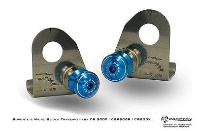 Slider Traseiro Procton Racing Cbr 500r Cb 500f Cb 500x 2014-15