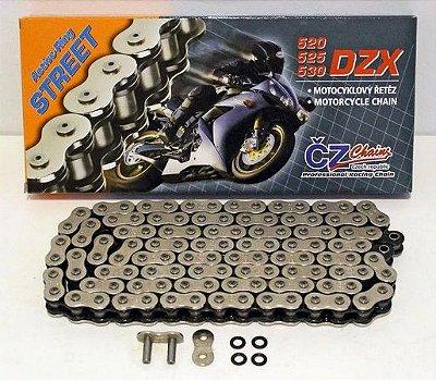 CZ CHAIN CORRENTE DZX 525 X 128 COM REDENTOR EM X